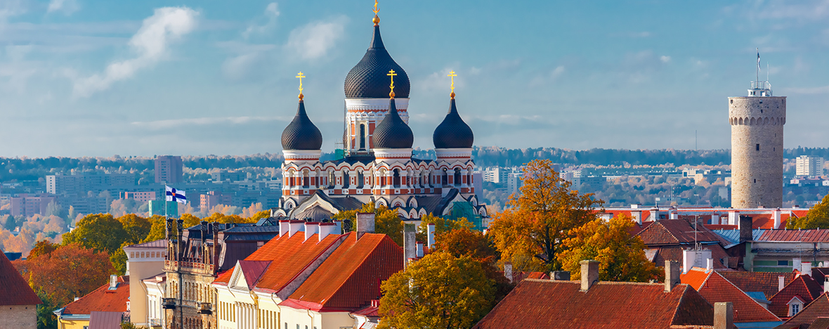 Riga, Tallinn & Helsingfors