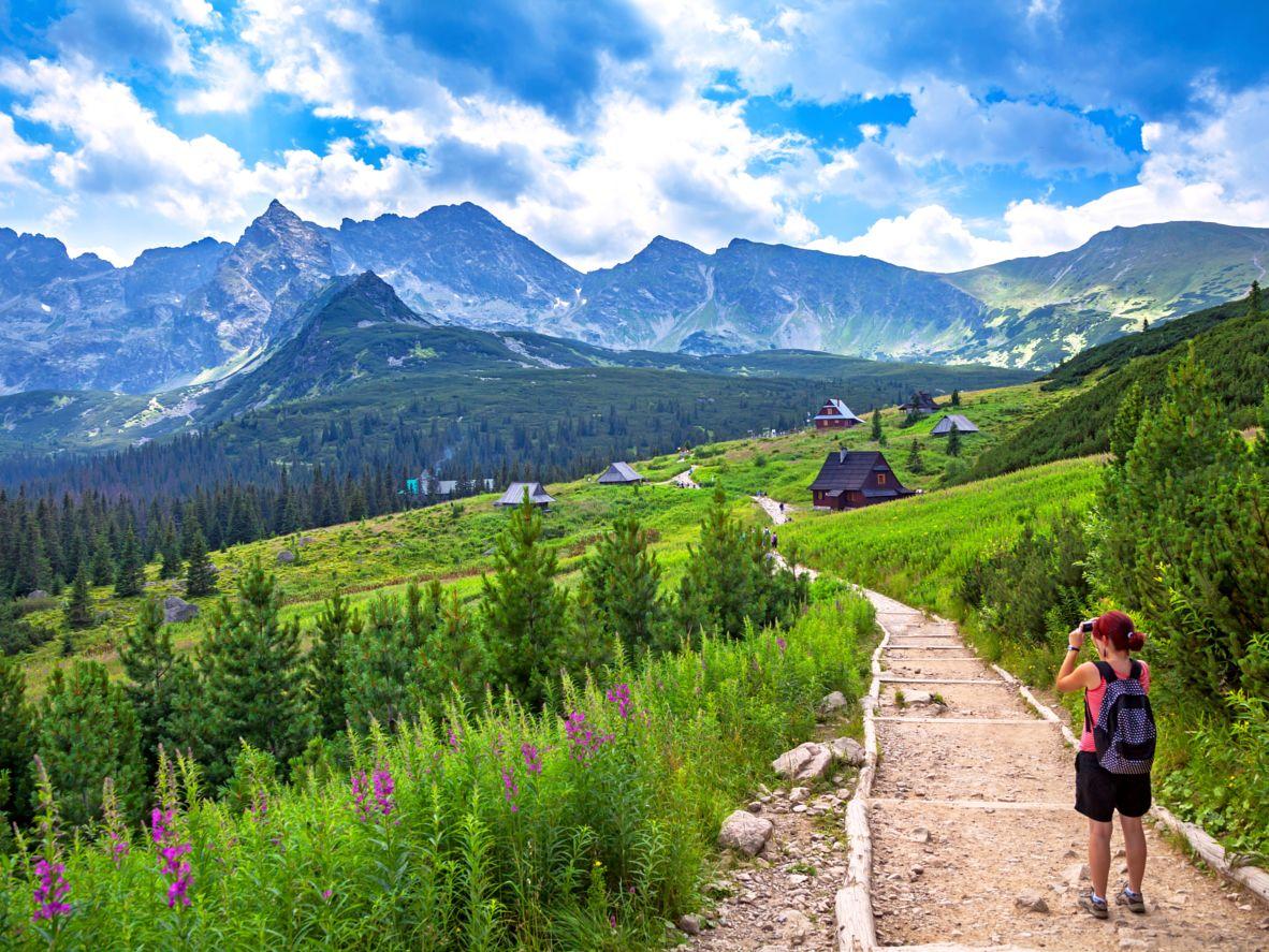 Vandring i Tatra-fjellene